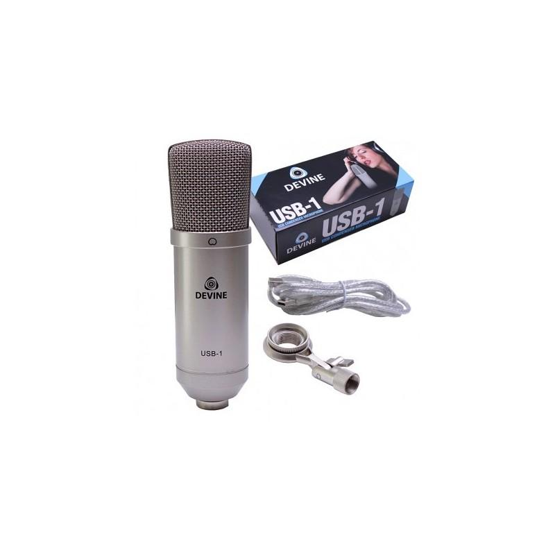 Devine USB-1 studiomicrofoon